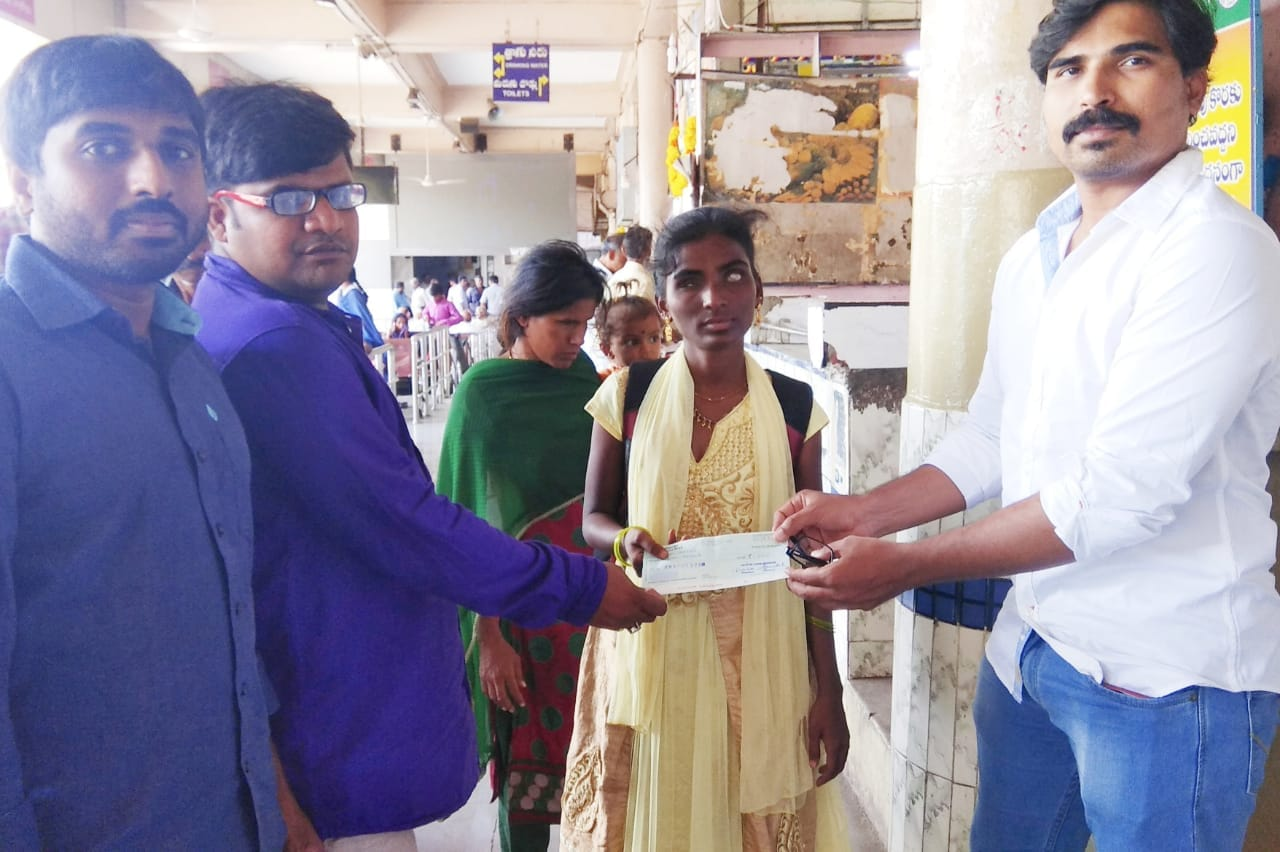 Scholarship Contribution to Meri Santhi for Her Education Support